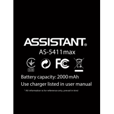 Акумулятор до смартфону Assistant AS 5411, AS 5411 Max