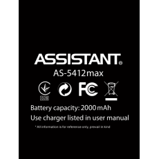 Акумулятор до смартфону Assistant AS 5412, AS 5412 Max