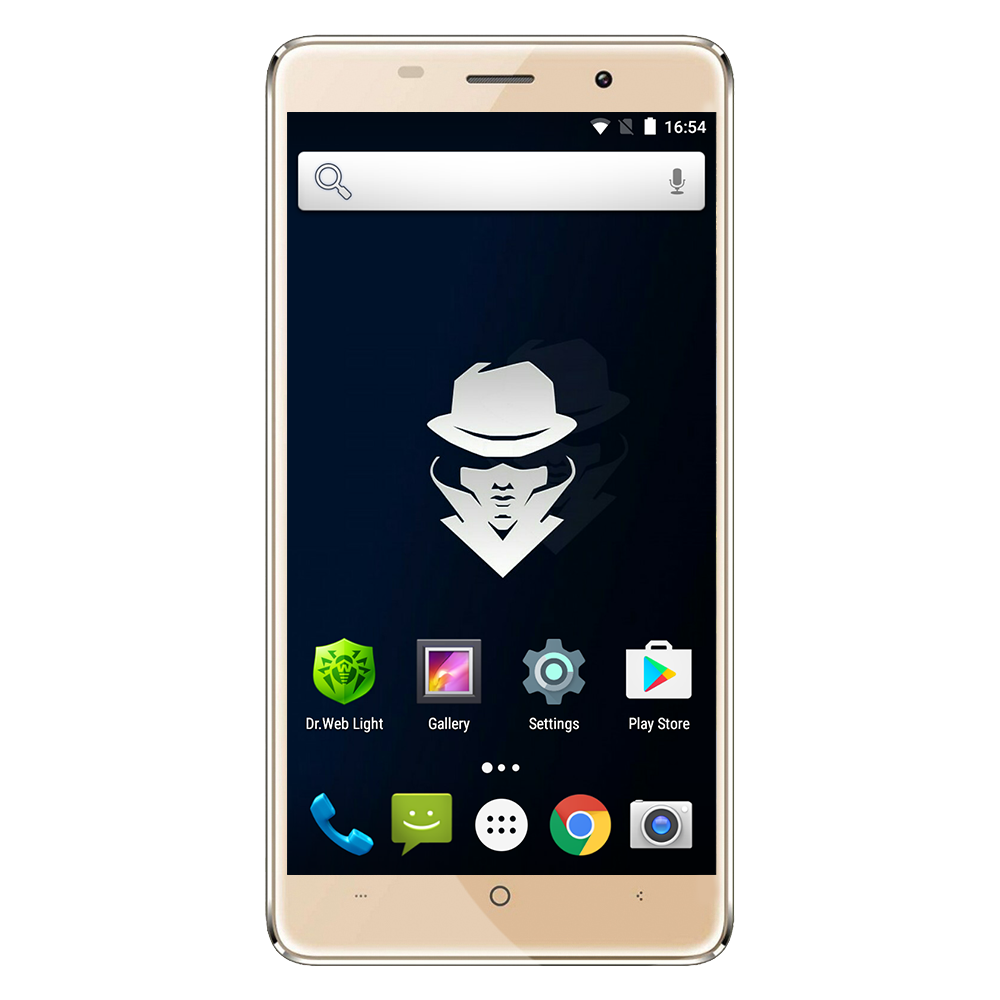 Смартфон Assistant AS-5433 SECRET (gold, grey, white) - уценка